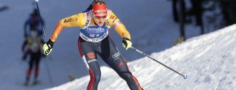 Біатлон. Німкеня Геррманн виграла індивідуальну гонку на Кубку світу, Джима фінішувала в топ-15