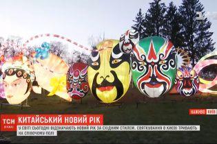 В столице на Певческом поле проходит празднование китайского Нового года
