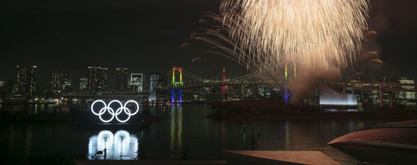Роскошный фейерверк над Токио. В Японии отпраздновали полгода до Олимпиады-2020