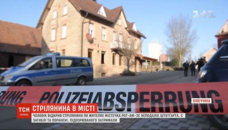 В Германии мужчина застрелил шесть человек и ранил еще двух