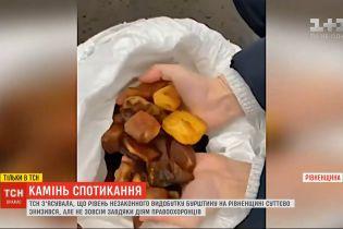 ТСН з'ясувала, чому на Рівненщині суттєво знизився рівень незаконного видобутку бурштину
