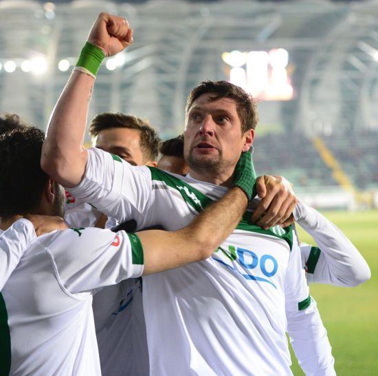 Селезньов забив переможний гол і був вилучений в чемпіонаті Туреччини