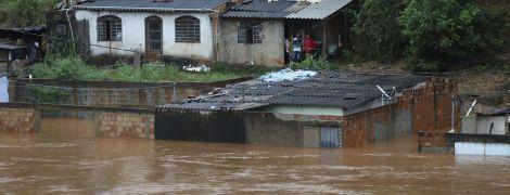 В Бразилии из-за мощных ливней погибли более 30 человек