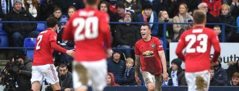 """""""Манчестер Юнайтед"""" забил шесть """"сухих"""" голов и вышел в следующий раунд Кубка Англии"""