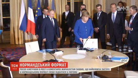 """Новая встреча в """"нормандском формате"""" может состояться уже в феврале"""