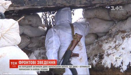 Бойовики з гранатометів та кулеметів відкрили вогонь по позиціях українських захисників