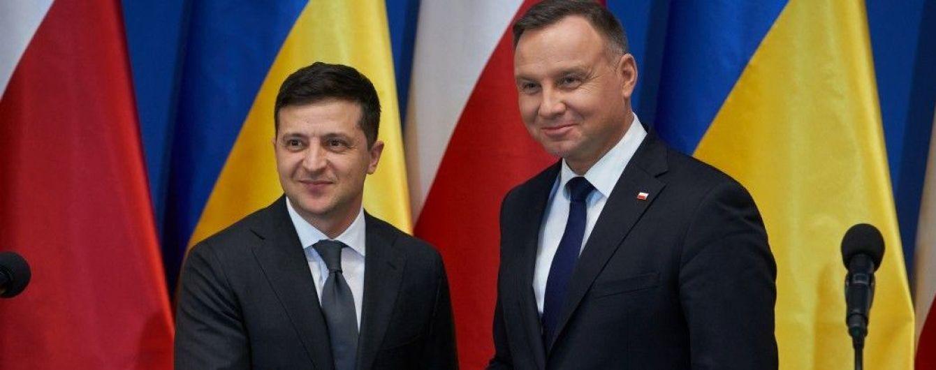 Вопрос исторической памяти между Украиной и Польшей снят полностью — Зеленский