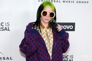 """Змінила маску на величезні окуляри: Біллі Айліш в образі від Gucci на афтепаті """"Греммі-2020"""""""