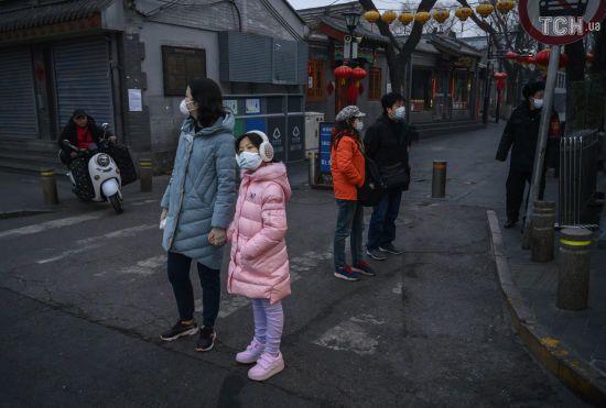 У Китаї повідомили про нові випадки коронавірусу, серед яких чотири десятки безсимптомних