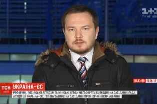 """На засіданні Ради асоціацій Україна - ЄС підніматимуть питання """"промислового безвізу"""""""