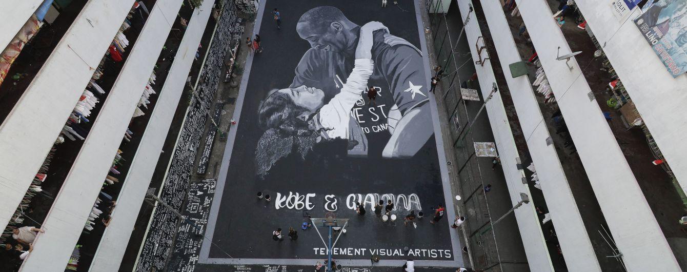 На честь загиблих Кобі Браянта та його доньки з'являються мурали по всьому світу