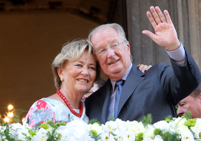 Королева Паола и король Бельгии Альберт II