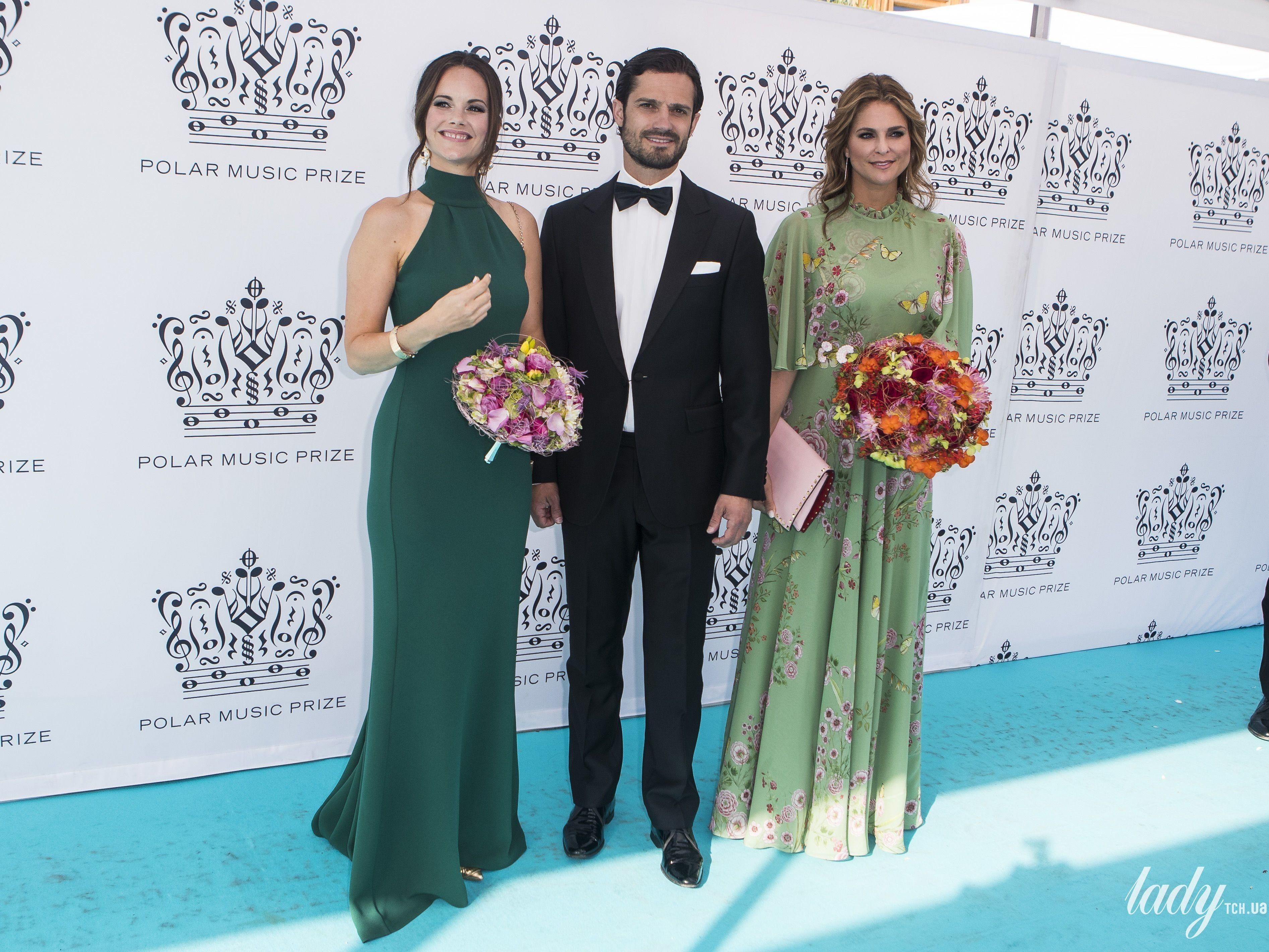 Принцесса София, принц Карл Филипп и принцесса Мадлен l