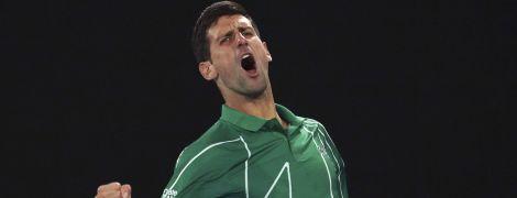 Джокович вышел в полуфинал Australian Open и сыграет юбилейный матч против Федерера