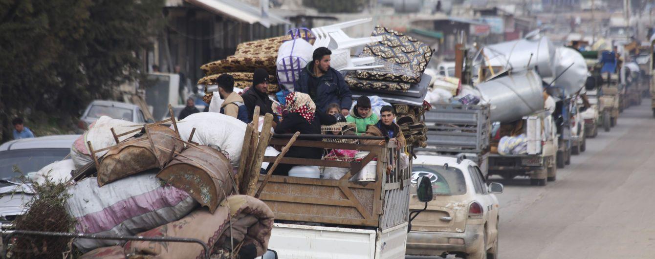 За два месяца больше 500 тысяч жителей провинции Идлиб в Сирии стали беженцами - ООН