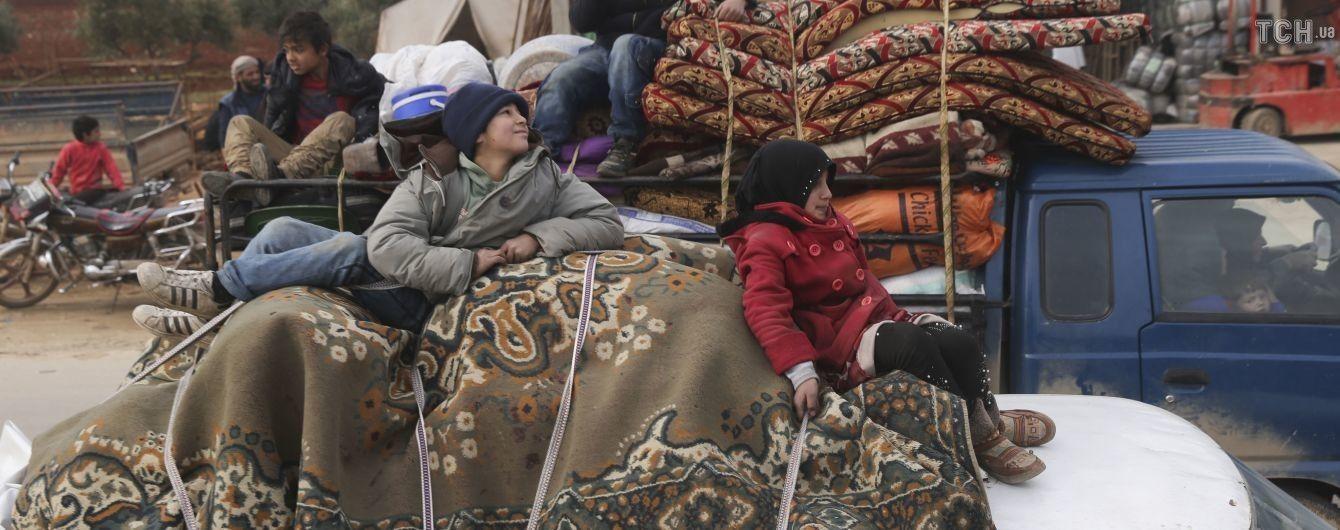Только за одни сутки почти 40 тысяч сирийцев были вынуждены стать беженцами