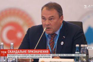 ПАСЕ избрала вице-спикером российского депутата, который известный антиукраинской пропагандой