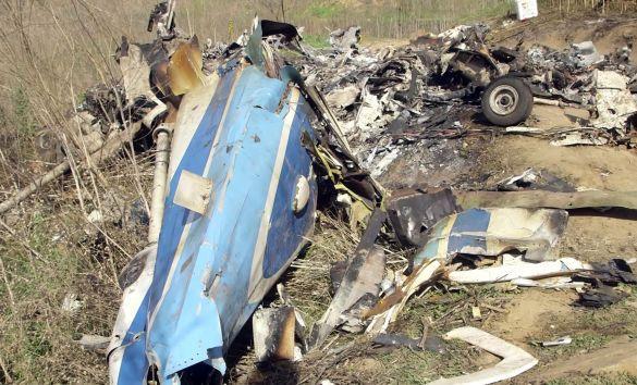 Розбитий літак Кобі Браянта