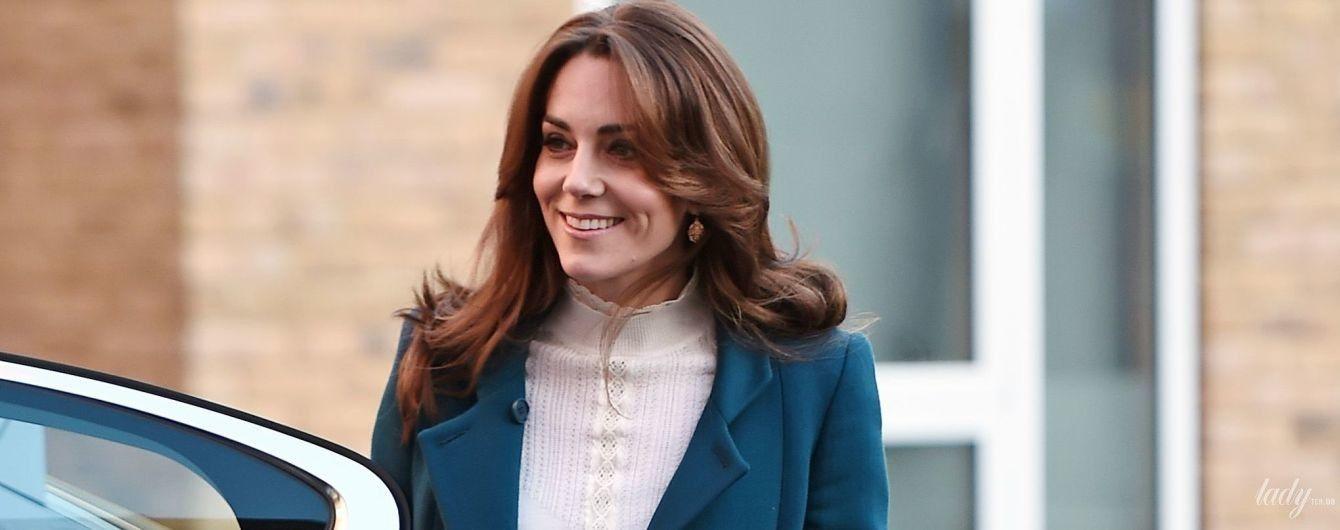 Какая красотка: герцогиня Кембриджская впечатлила новым образом на мероприятии в Лондоне