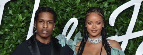 Влюбчивая Рианна закрутила роман с известным рэпером A$AP Rocky – СМИ