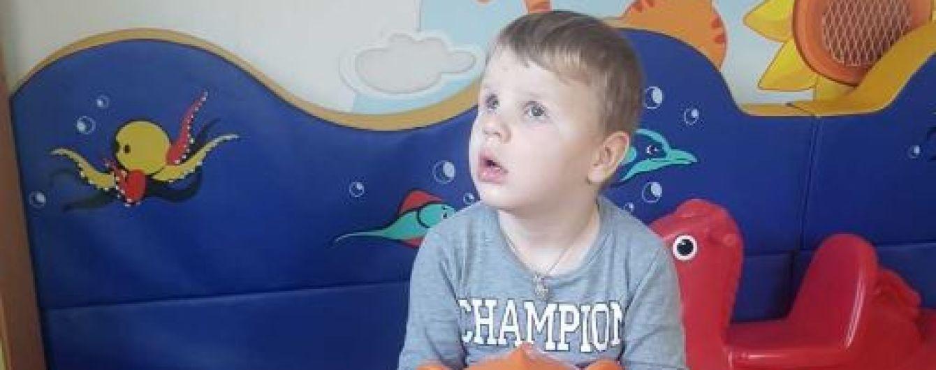 Помочь собрать средства на лечение бабушки и внука просит семья Терещенко