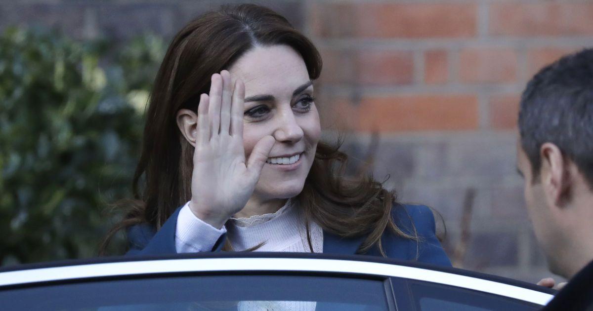 Непосидюча Кейт Міддлтон вп'яте за тиждень здійснила публічний вихід