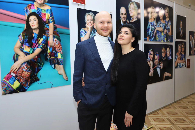 Гости художественной выставки_14