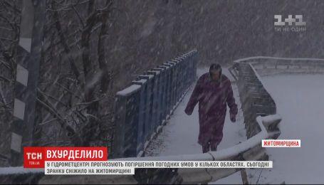 Снегопады и метели накроют Харьковскую и Полтавскую области - синоптики