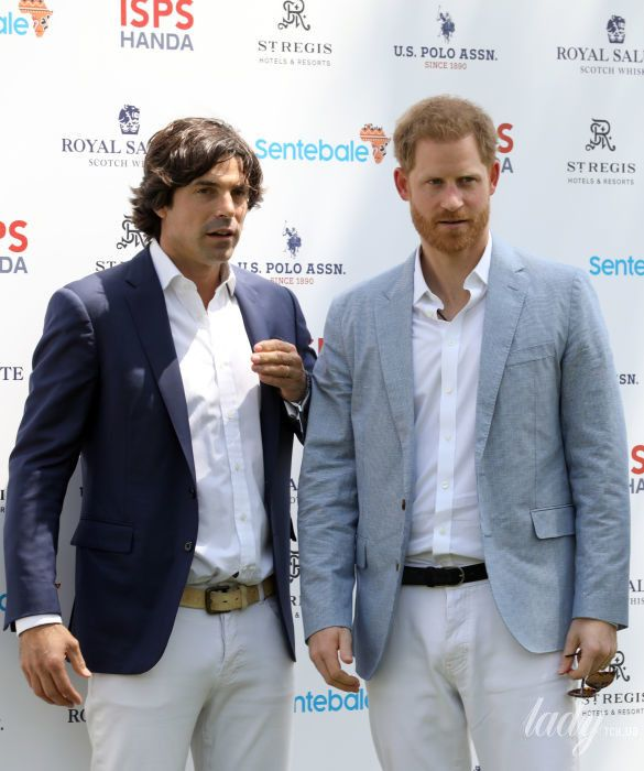 Начо Фигерас и принц Гарри