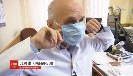 Украинские врачи предупреждают о приближении пика заболеваемости гриппом и ОРВИ
