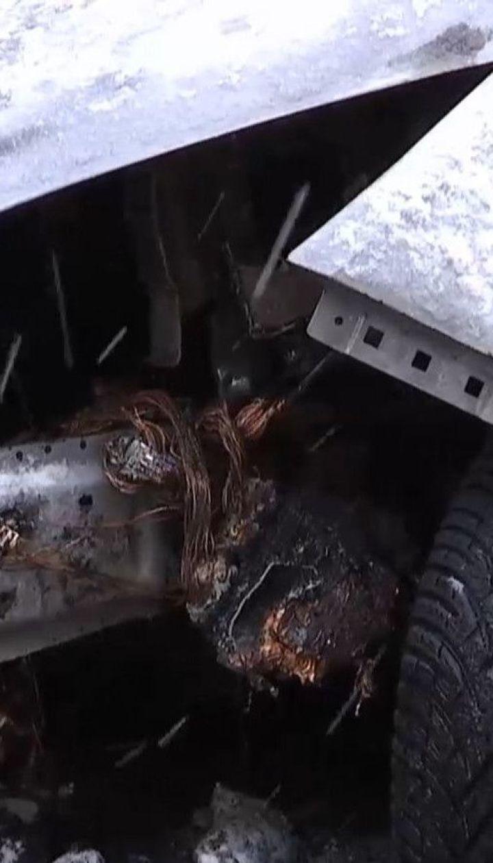"""Умышленный поджог: во Львове уничтожили авто журналистки """"Радио Свобода"""" Галины Терещук"""