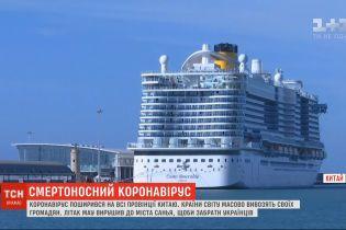 Более 6 тысяч туристов застряли на круизном лайнере в Италии из-за коронавируса