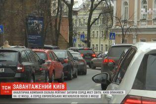 Пробки в Киеве: ТСН проинспектировала ситуацию на столичных дорогах