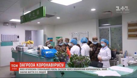 Всемирная организация здравоохранения объявила чрезвычайное положение из-за коронавируса