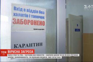 Вірусна загроза: школи Вінниці, Ужгорода та Сум зачинили на карантин