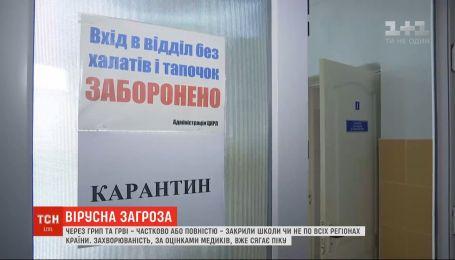 Вирусная угроза: школы Винницы, Ужгорода и Сум закрыли на карантин