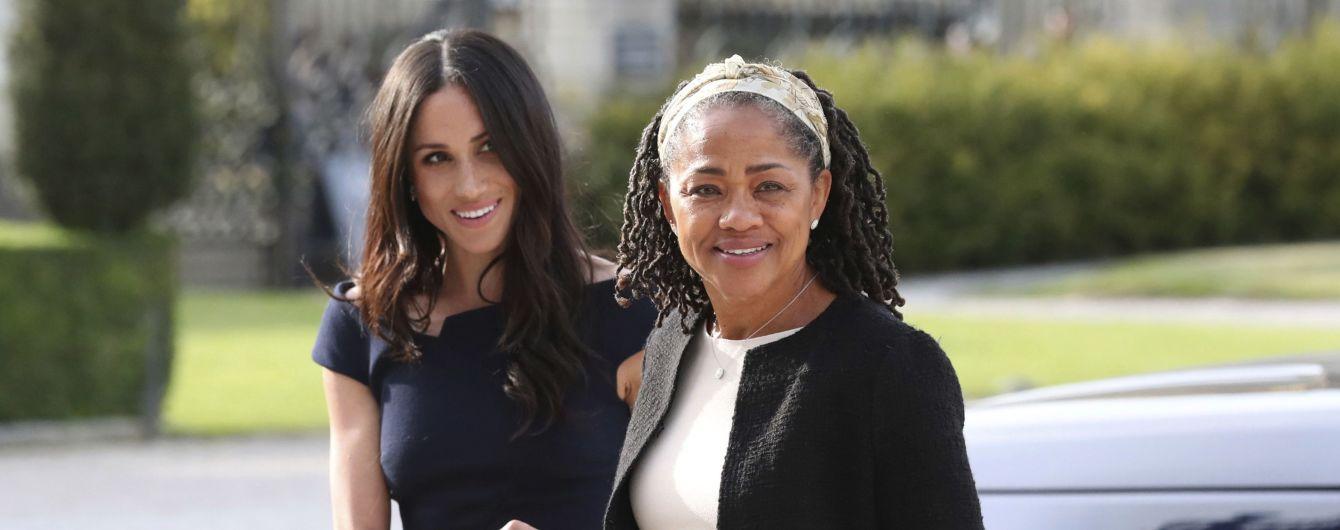 Мать Меган Маркл переехала жить в особняк к дочери и принца Гарри - СМИ