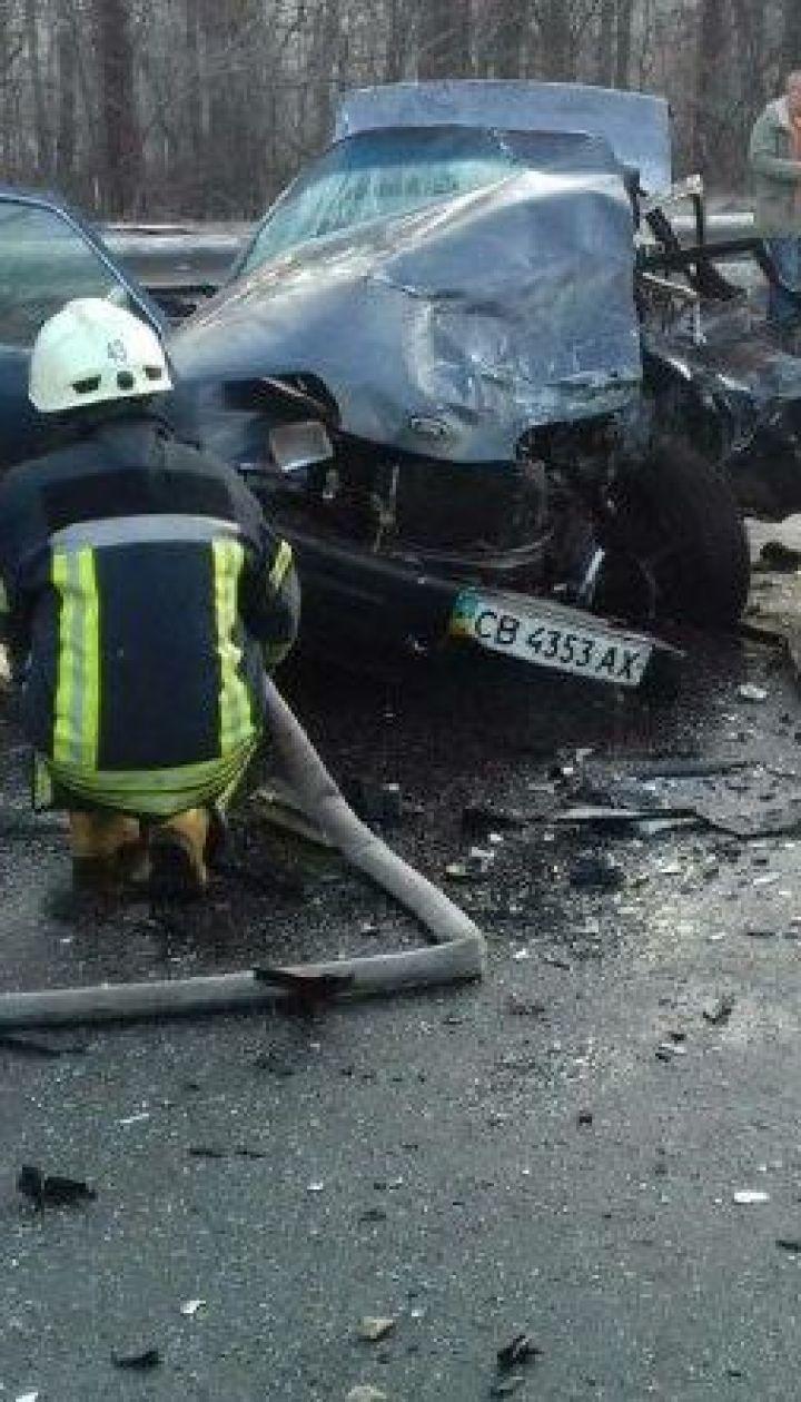 Підбірка моторошних аварій на українських дорогах