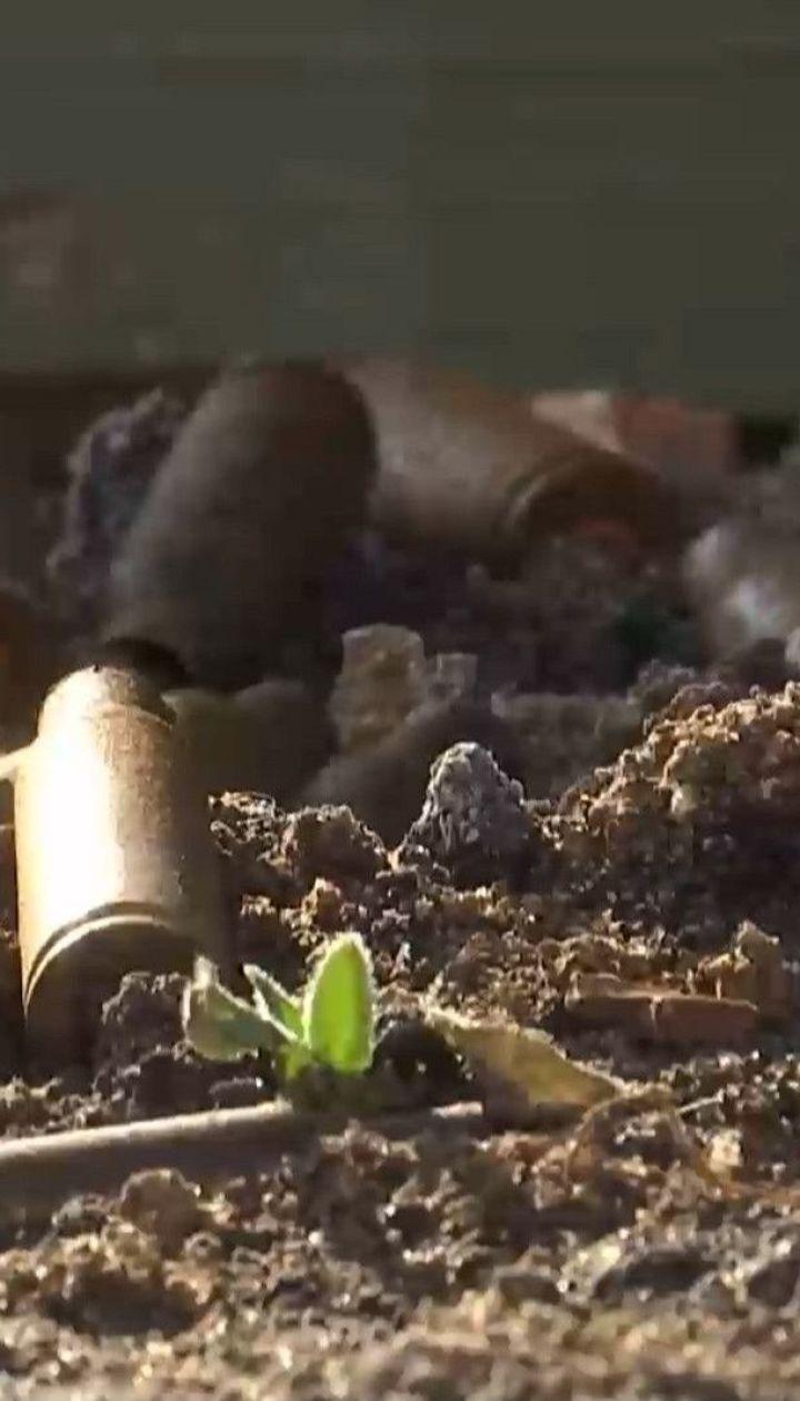 Біля Новотошківського бойовики вели обстріли гарматами великого калібру