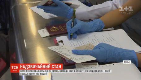 ВОЗ объявила чрезвычайное положение в связи с распространением китайского коронавируса