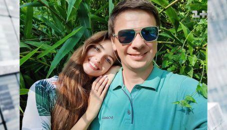 Как Дмитрий Комаров провел каникулы с Александрой Кучеренко в круизе