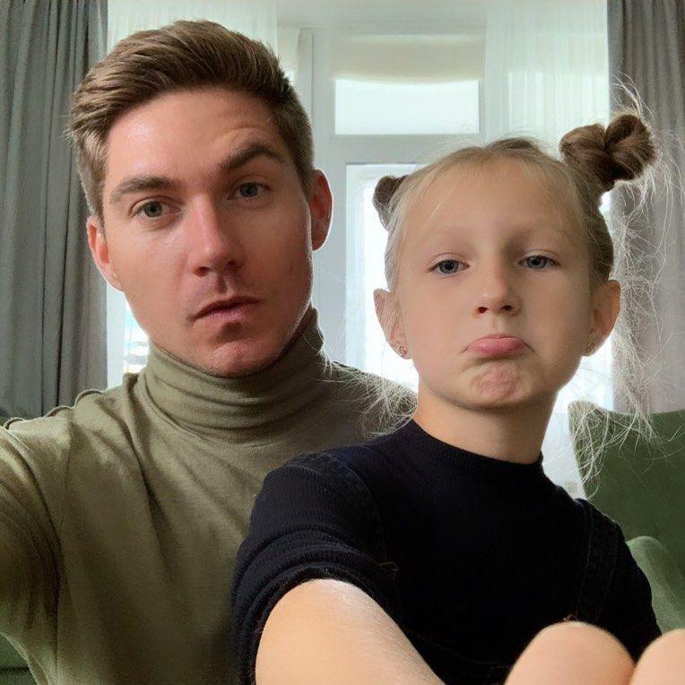Володимир Остапчук з дочкою