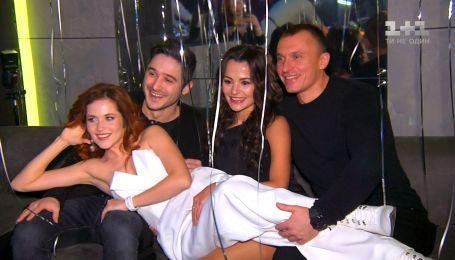 Празднование Дня рождения актрисы Натальи Денисенко