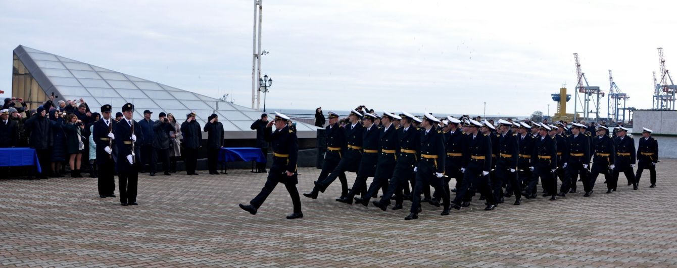 В Одесі завершили навчання молоді офіцери, котрих у 2018 році полонила РФ біля Керченської протоки