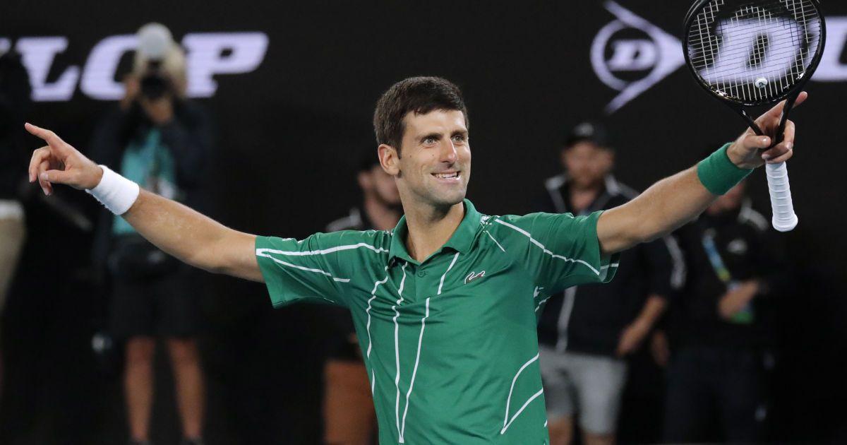 Джокович в супертяжелом четырехчасовом поединке защитил титул чемпиона Australian Open