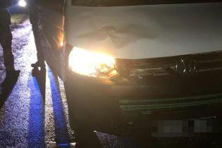 На Львовщине военный на служебном автомобиле насмерть сбил пешехода