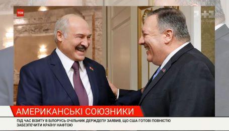 Майк Помпео у Києві та Мінську: що наобіцяв головний дипломат США