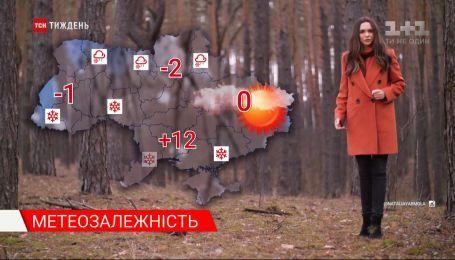 Метеозалежність: після весняної погоди на Україну суне циклон зі снігопадами і морозами
