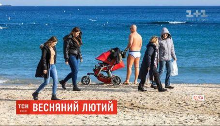 +18 у лютому: в Одесі зафіксували новий температурний рекорд