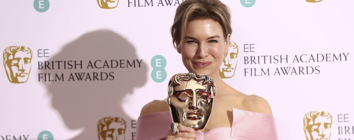 В безупречном образе: Рене Зеллвегер получила главный приз на BAFTA-2020